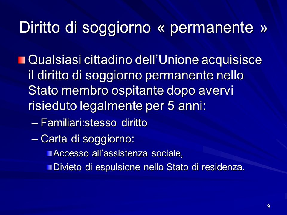 LA LIBERA CIRCOLAZIONE DEGLI SPORTIVI NELL\'UNIONE EUROPEA - ppt ...
