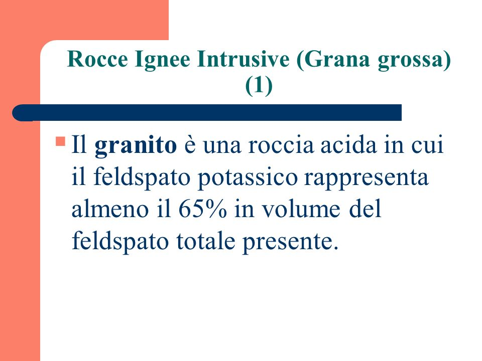 Rocce Ignee Intrusive (Grana grossa) (1)