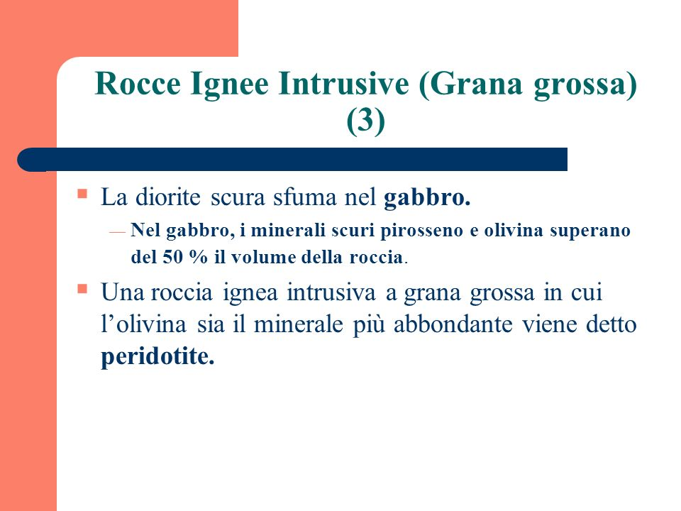 Rocce Ignee Intrusive (Grana grossa) (3)