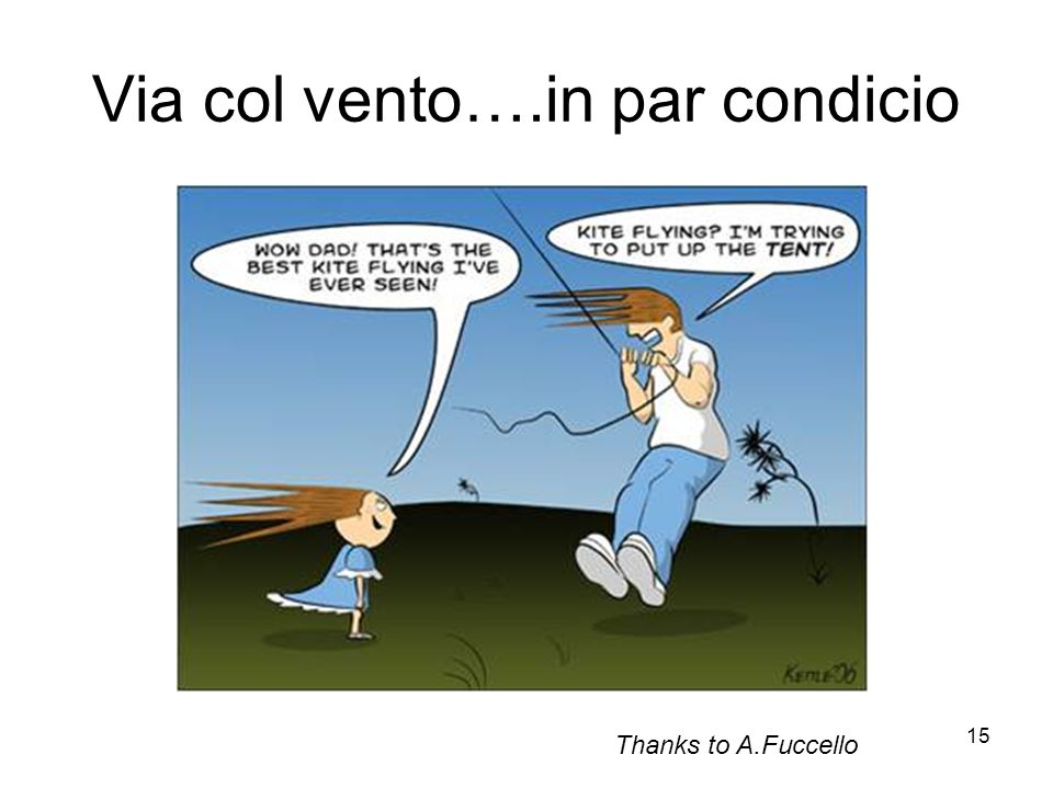 Via col vento….in par condicio