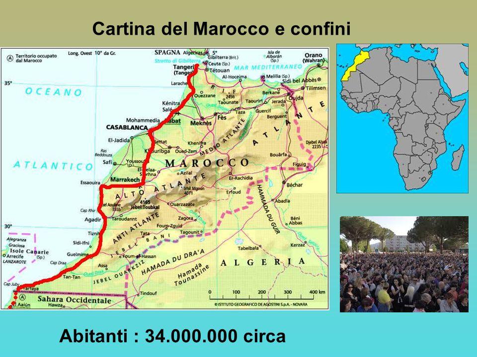 Cartina Geografica Fisica Del Marocco.Marocco Bandiera Del Marocco Ppt Video Online Scaricare