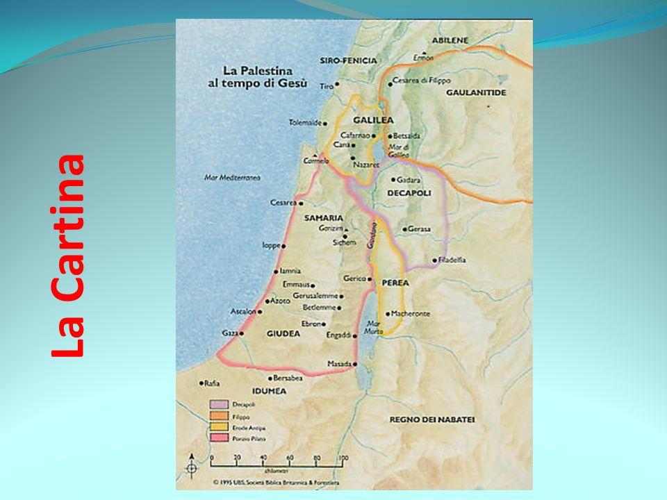 Cartina Fisica Palestina.La Palestina Ai Tempi Di Gesu Ppt Video Online Scaricare