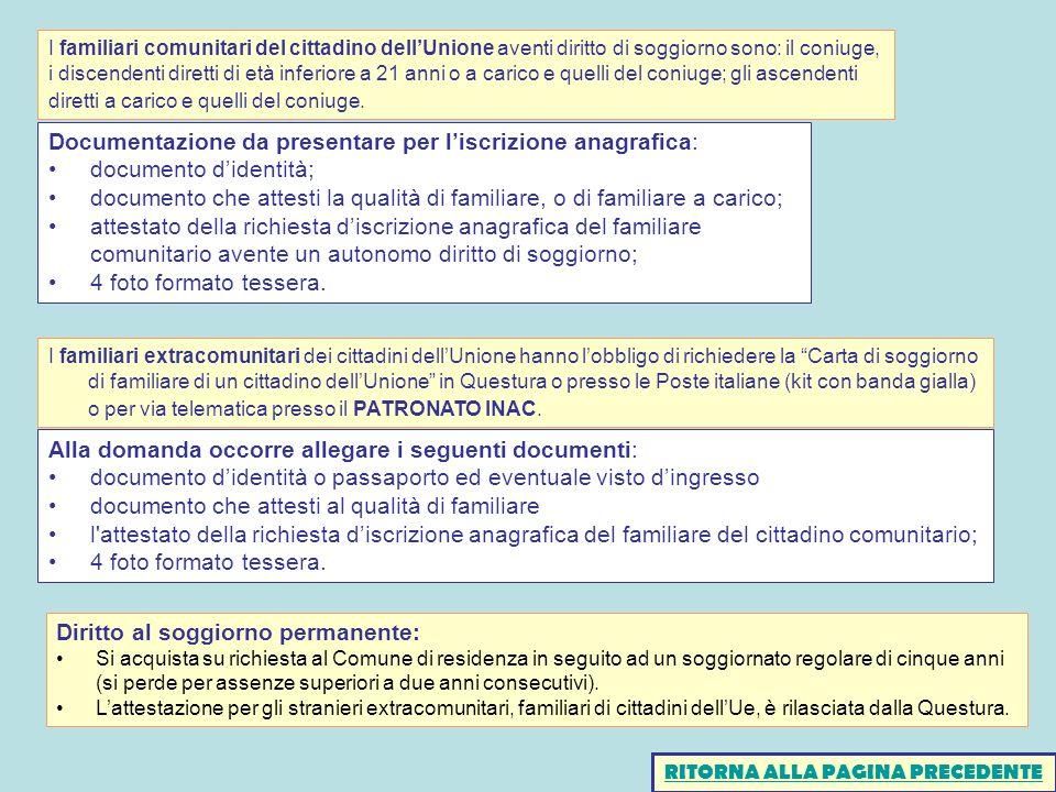 Beautiful Richiesta Carta Di Soggiorno Per Stranieri Ideas - Casa ...