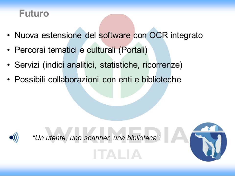 Futuro Nuova estensione del software con OCR integrato