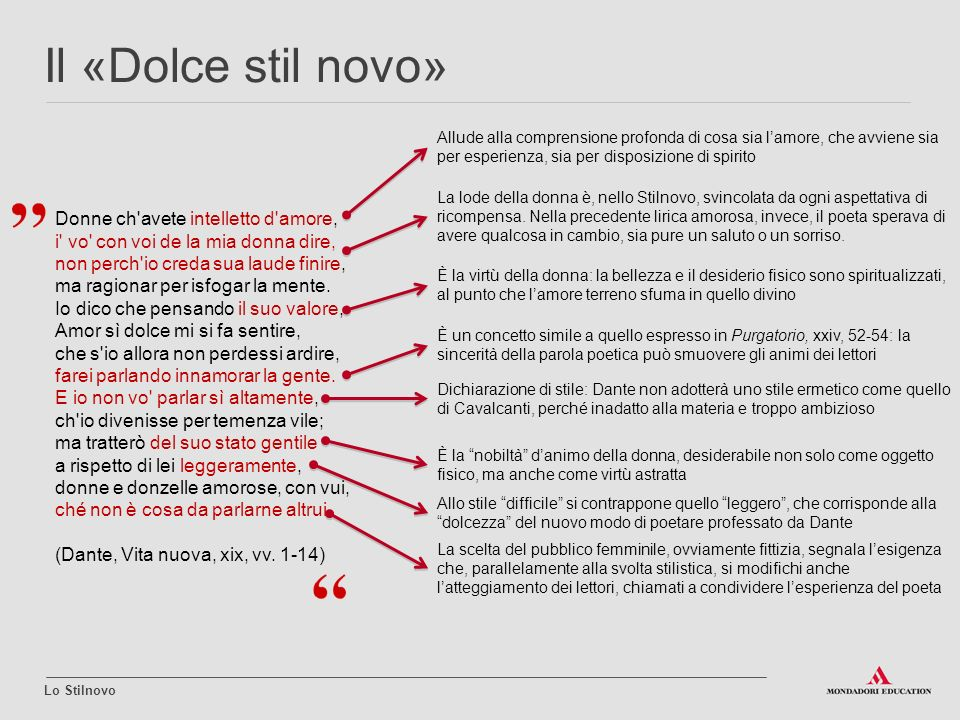 Lo Stilnovo Ppt Video Online Scaricare