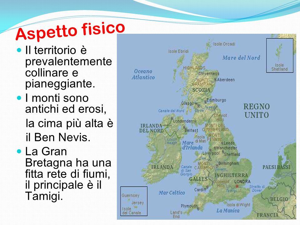 Cartina Fisica Del Regno Unito.Regno Unito Ppt Scaricare