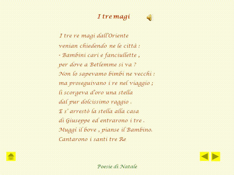 Poesia La Stella Di Natale.Poesia Del Natale Natale In Poesia Poesie Di Natale Ppt Video