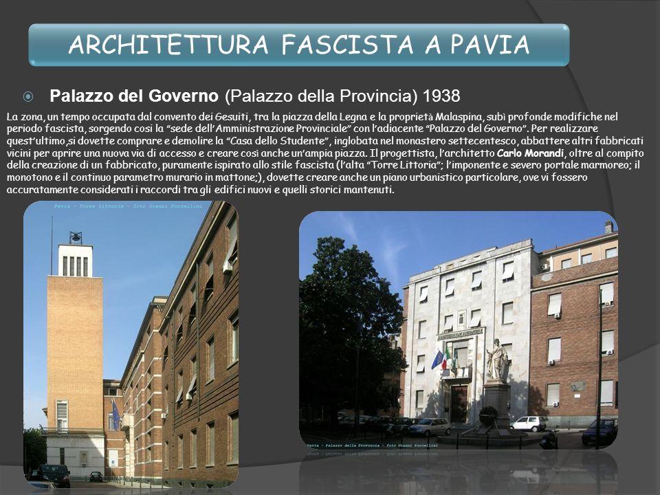 Propaganda fascista Architettura fascista A pavia Anno Luca - ppt ...