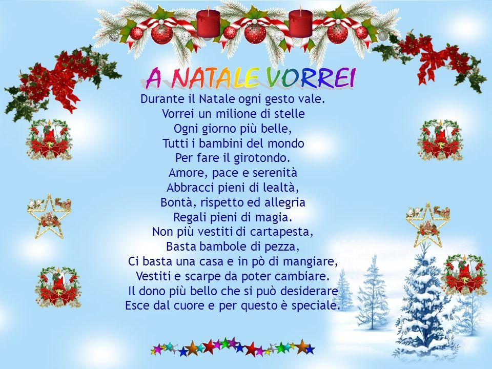 Le Piu Belle Poesie Di Natale Scuola Primaria.A Natale Vorrei Ppt Video Online Scaricare