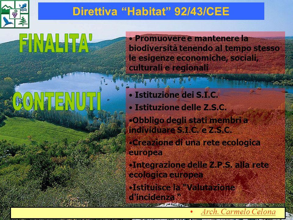 Direttiva Habitat 92 43 CEE