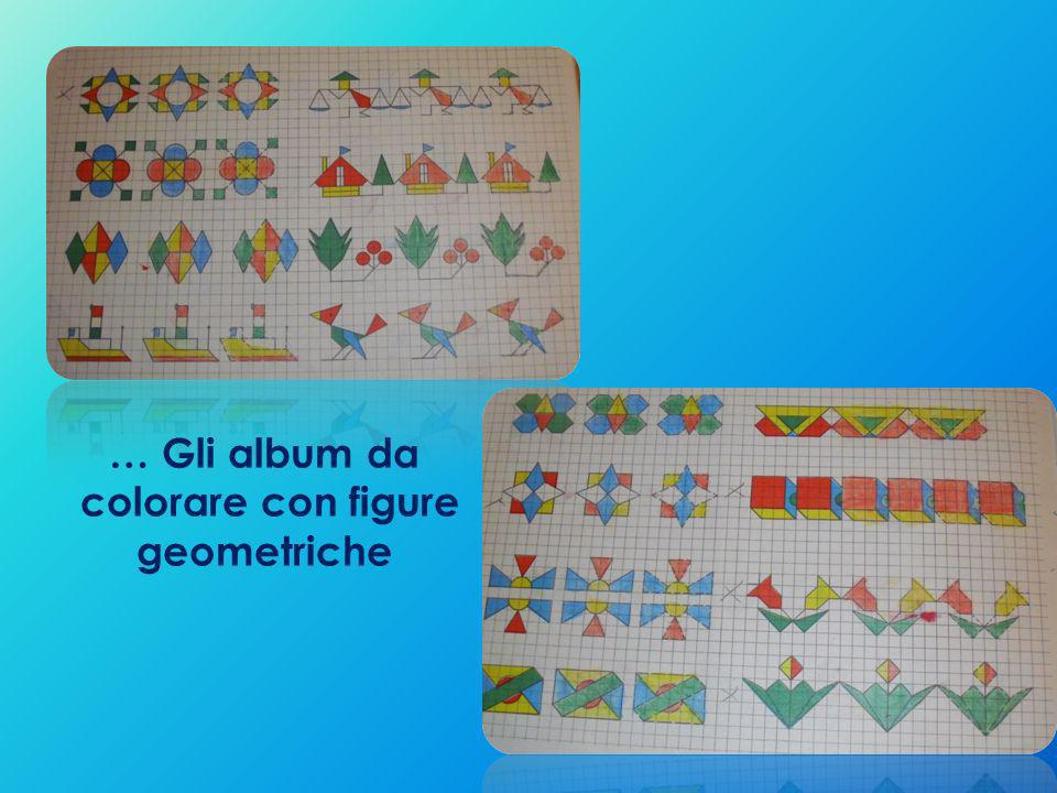 colorare con figure geometriche