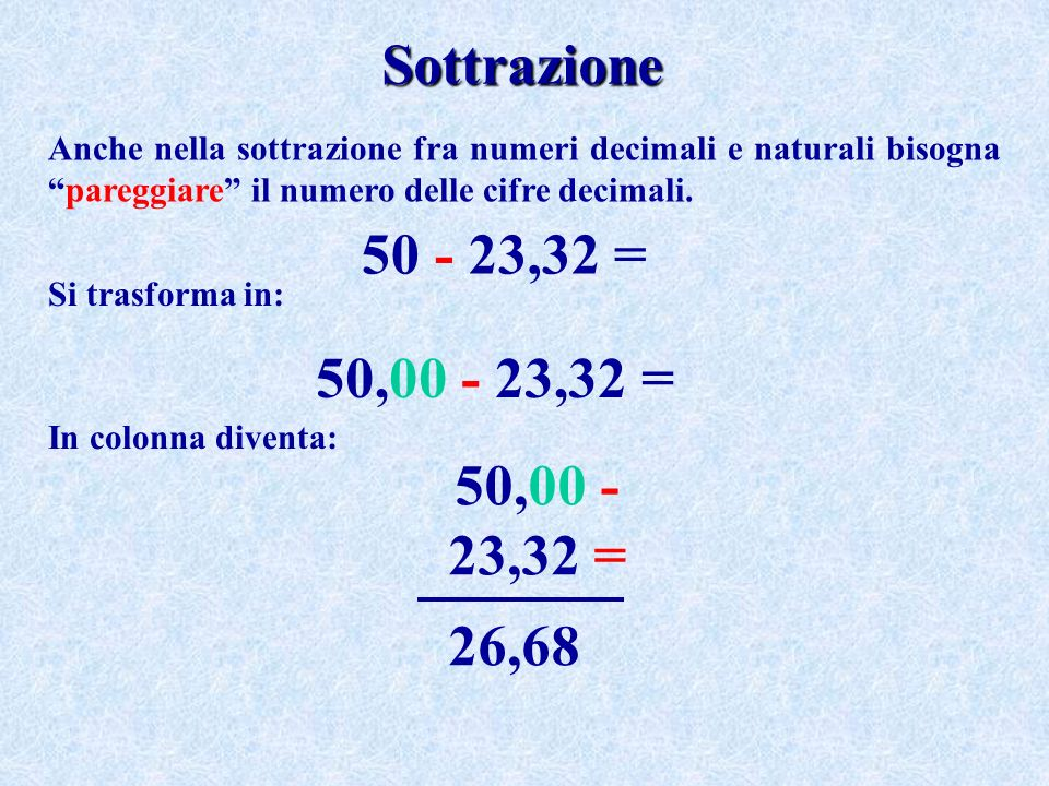 new product 42540 77051 Operazioni con Numeri Naturali e Numeri Decimali - ppt video ...