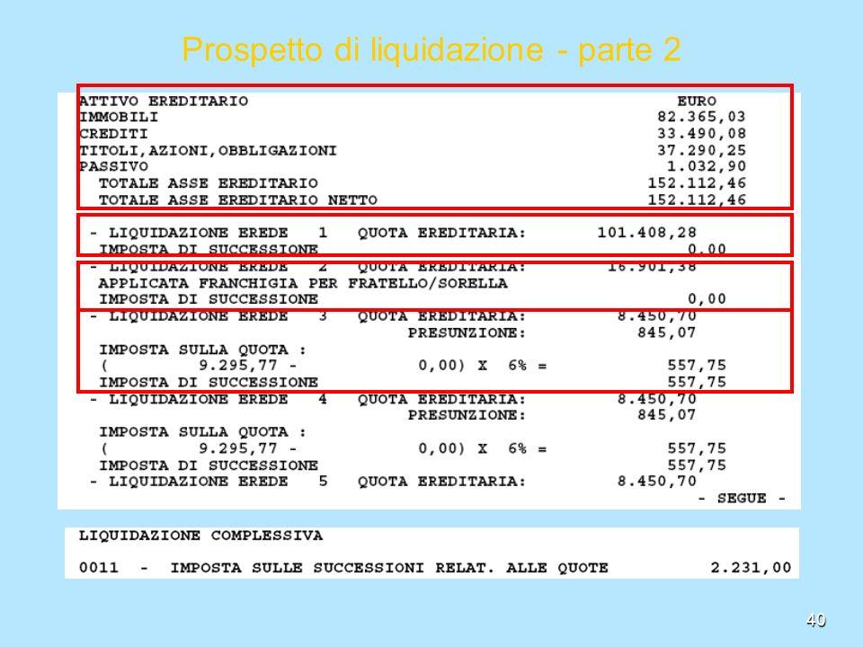 40 Prospetto ...