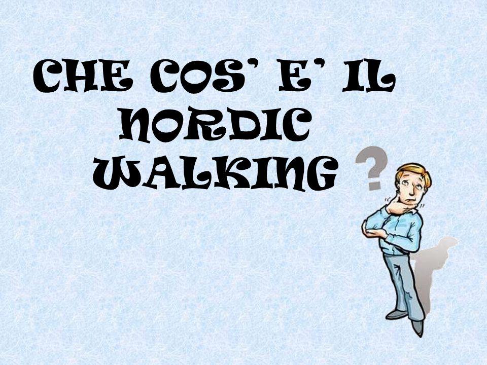 il NORDIC WALKING NON E' SOLO CAMMINARE CON I BASTONCINI - ppt video online scaricare