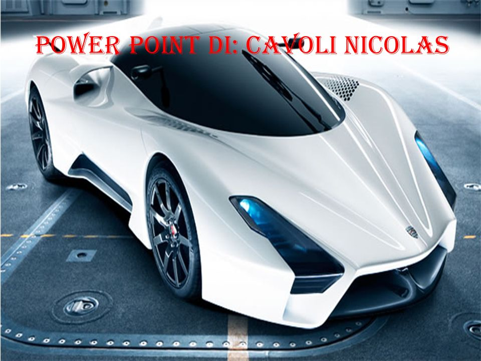 Power Point di: Cavoli Nicolas
