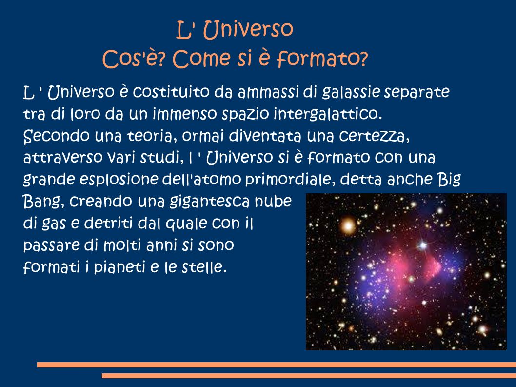 L Universo Ppt Video Online Scaricare
