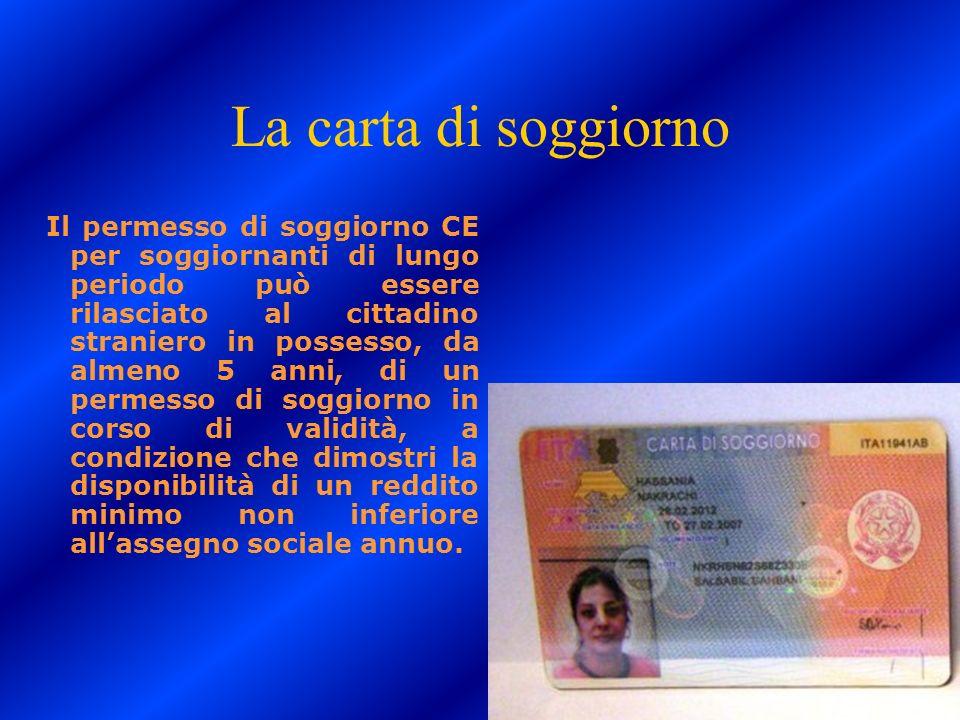 Emejing Carta Soggiorno Permanente Photos Idee | sokolvineyard.com
