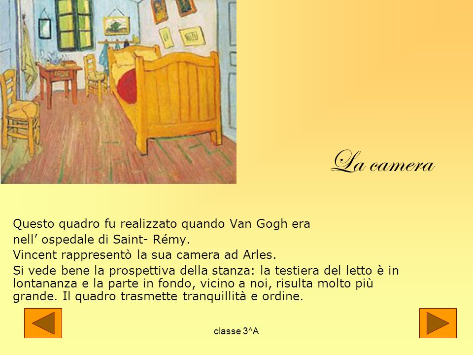 Sulle orme diVan Gogh classe 3^A. - ppt video online scaricare