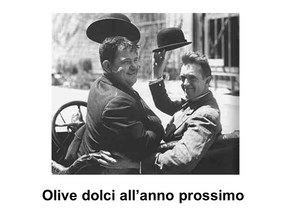 Olive dolci all'anno prossimo
