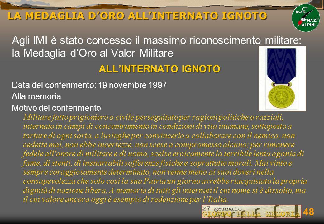 I DEPORTATI MILITARI ITALIANI NEI CAMPI NAZISTI - ppt scaricare