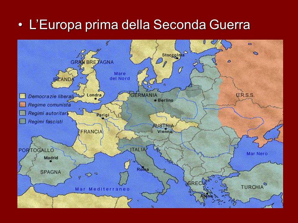 Cartina Europa 1938.La Seconda Guerra Mondiale Ppt Video Online Scaricare