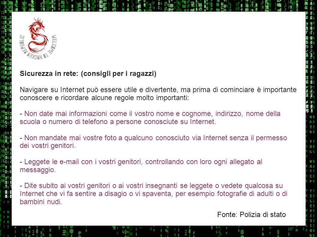 Cyber dating consigli di sicurezza