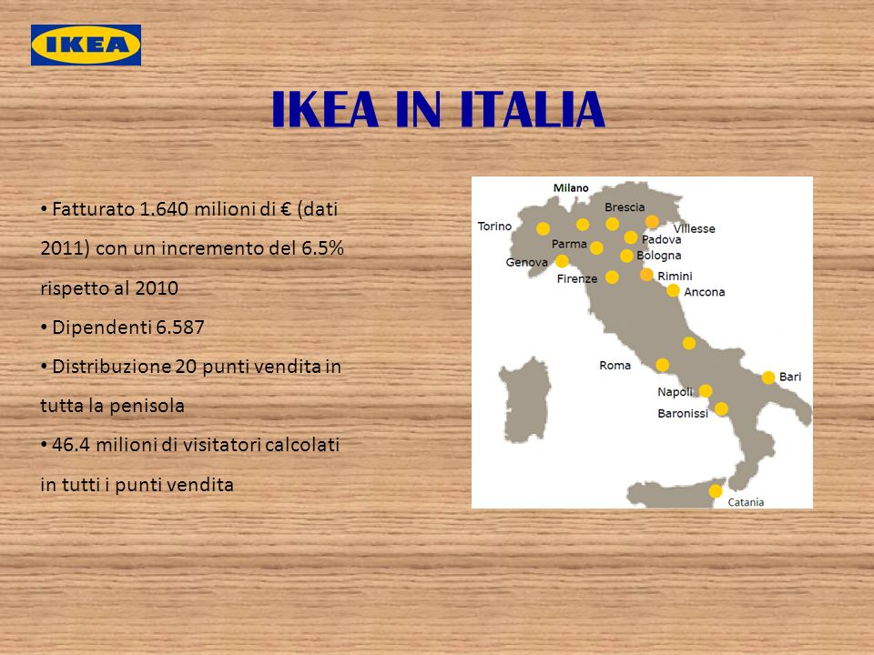 Ikea è Unazienda Multinazionale Fondata In Svezia E Con Sede Legale
