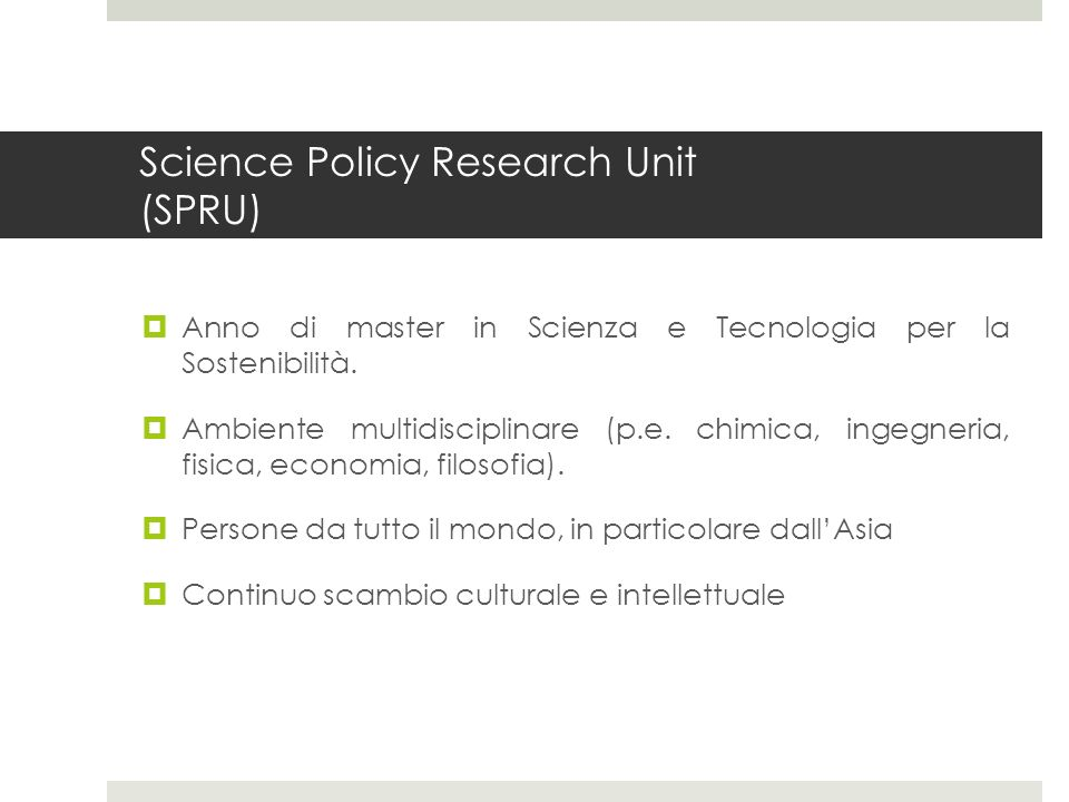 Science Policy Research Unit (SPRU)