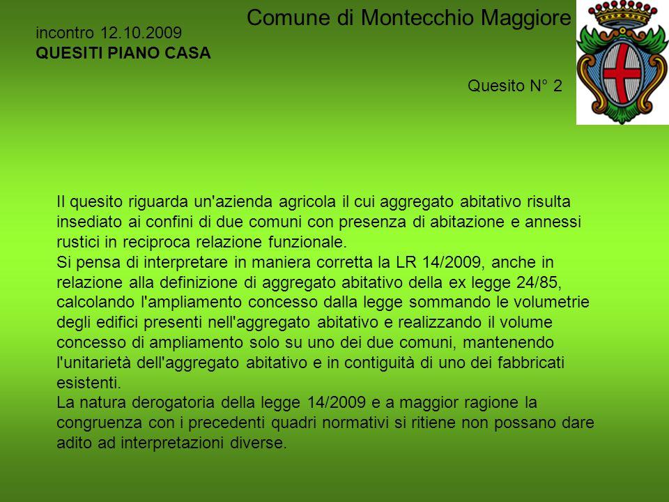 Piano Casa La Legge 14 2009 Comune Di Montecchio Maggiore Ppt Scaricare