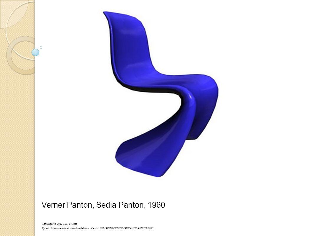 Verner Panton, Sedia Panton, 1960
