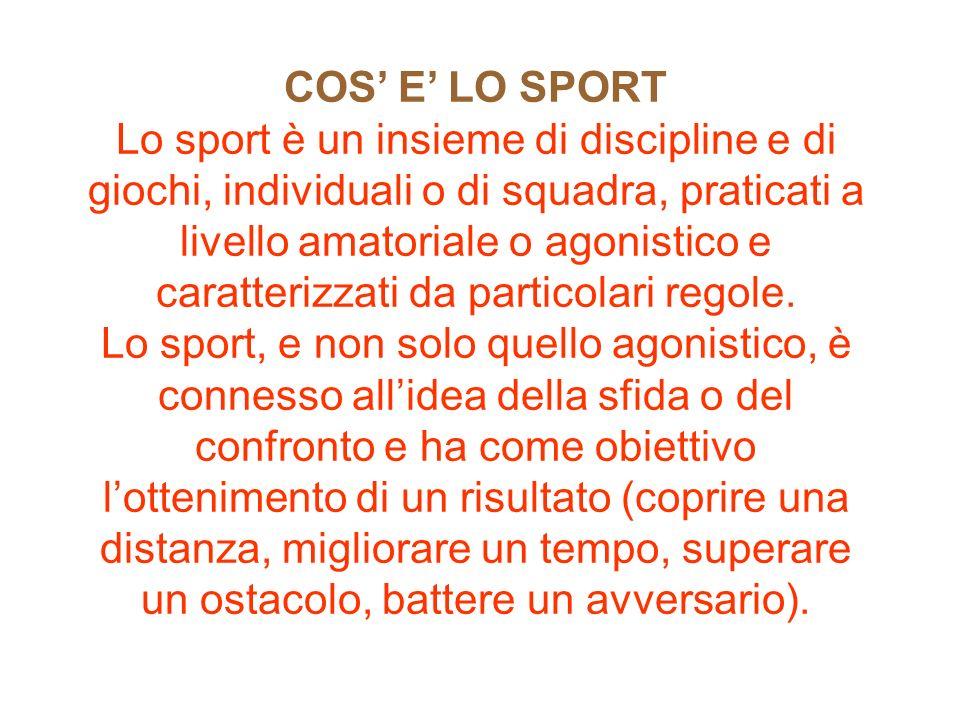 Lo Sport Presentazione Di Andrea Sabato E Salvatore Nisi Ppt Video Online Scaricare