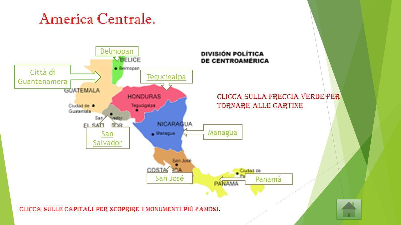 Stati America Centrale Cartina.Stati E Capitali Del Continente Americano Ppt Video Online