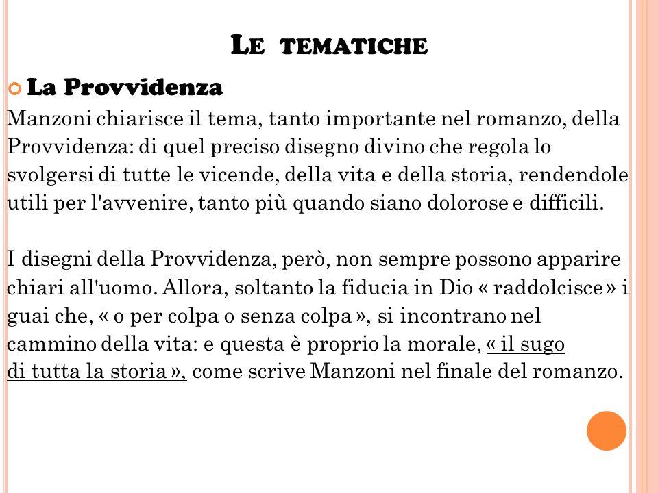 Risultati immagini per La Divina Provvidenza in Manzoni nei Promessi sposi .