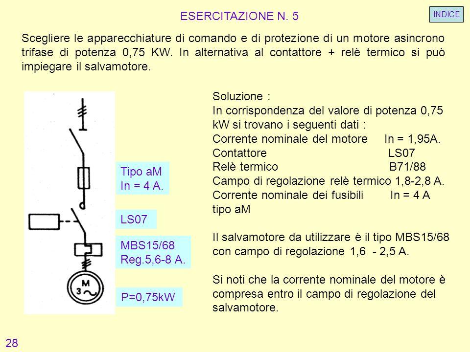 Schema Elettrico Contattore E Salvamotore : Protezione dei motori asincroni ppt video online scaricare