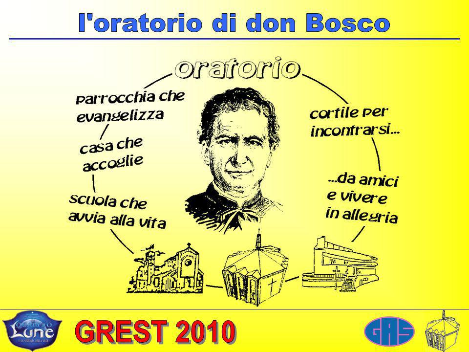 l oratorio di don Bosco