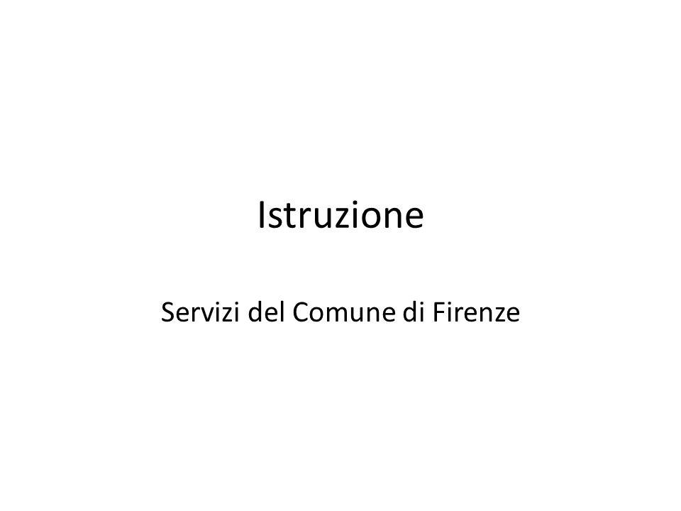 Servizi del Comune di Firenze - ppt scaricare