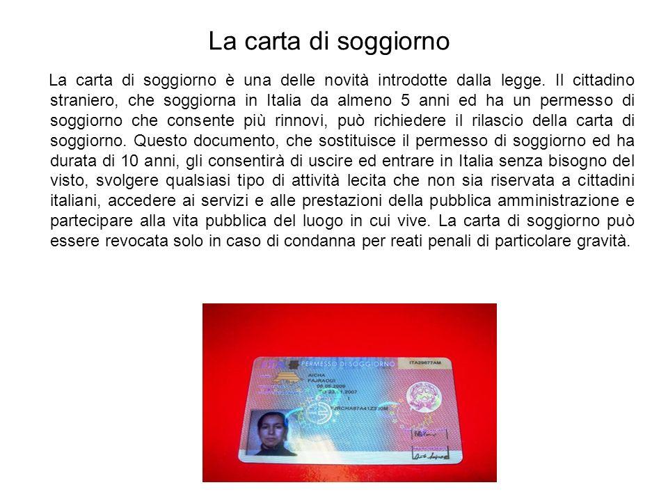 Stunning Ministero Dell Interno Permessi Di Soggiorno ...