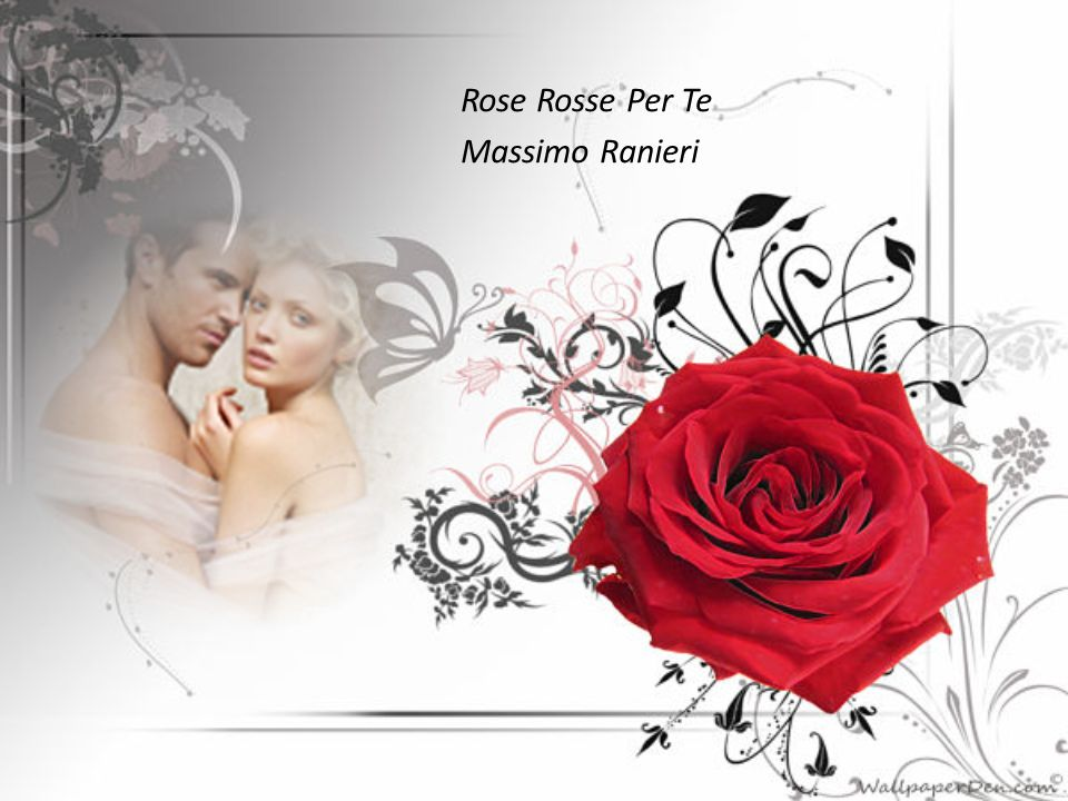 mp3 rose rosse per te ranieri massimo