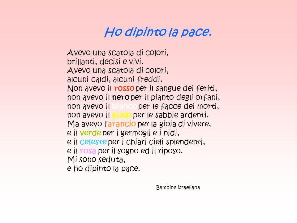 Poesie Di Natale Sulla Pace.Immagini Poesie Pensieri Riflessioni Sulla Pace Ppt