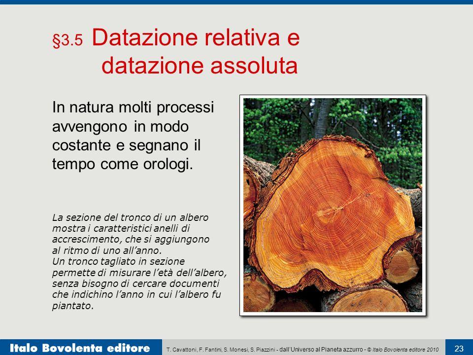 Qual è la differenza tra datazione assoluta e datazione relativa di rocce
