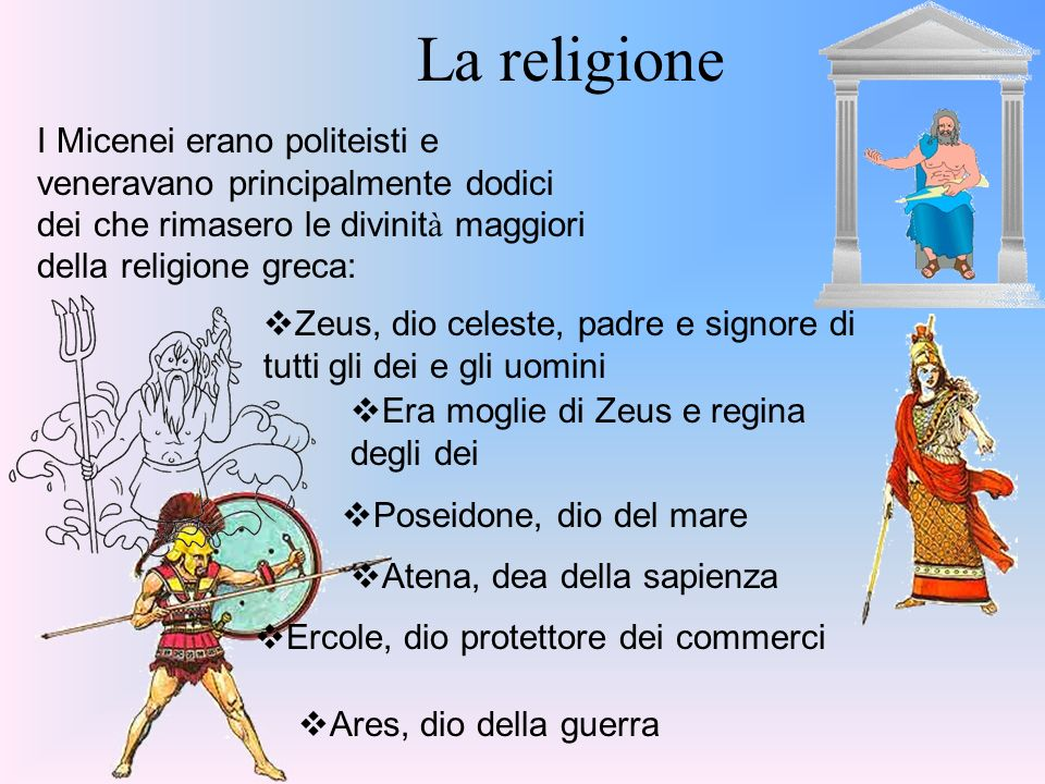 Risultati immagini per RELIGIONE DEI GRECI