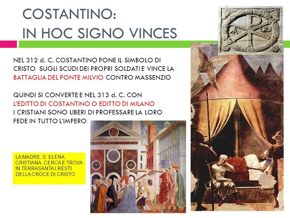IL CRISTIANESIMO E ROMA - ppt scaricare