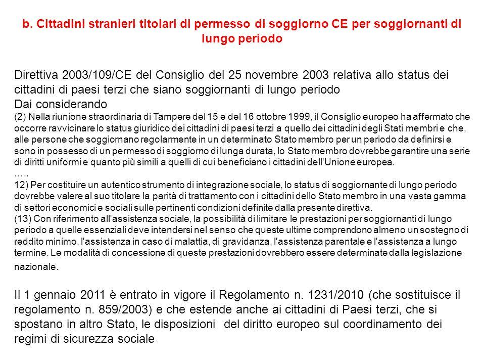 Beautiful Carta Di Soggiorno Di Lungo Periodo Gallery - Idee per la ...