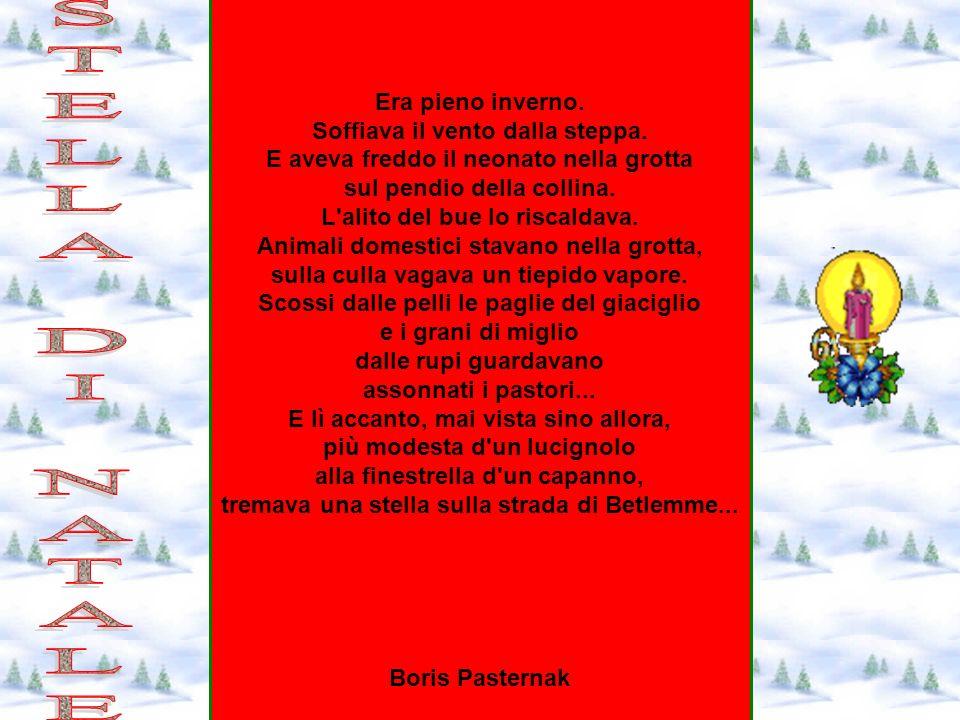 La Stella Di Natale Poesia.La Stella Di Natale Poesia Boris Pasternak Frismarketingadvies