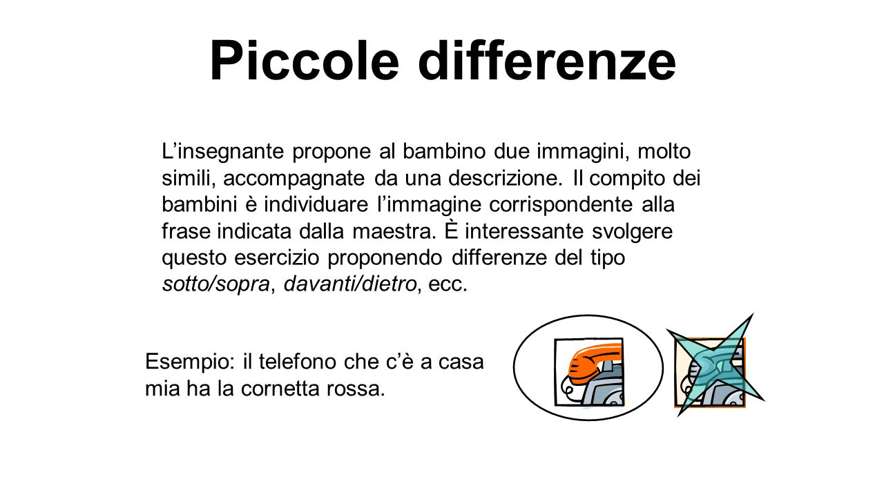 Piccole differenze