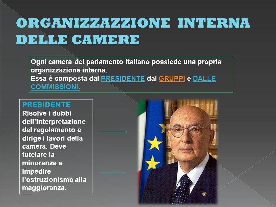Organizzazione Interna Della Camera : Organizzazione interna della camera dei deputati: a scuola di